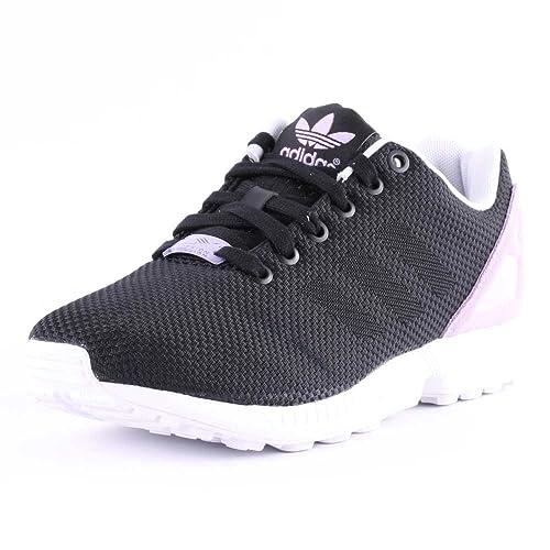 adidas Zx Flux Weave Damen Sneaker, SchwarzLila Größe: 42