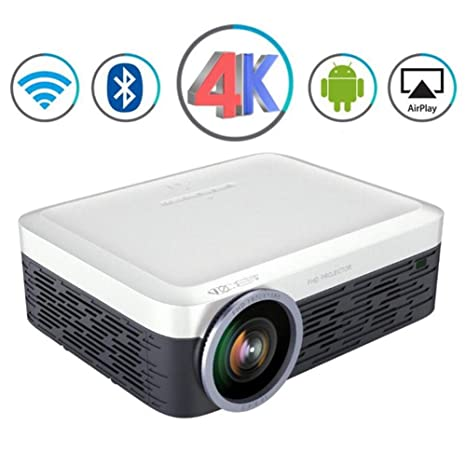 3000 Lúmenes Proyector Portátil Full HD LED LCD Android WiFi Video ...