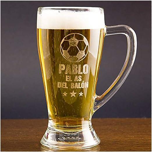 Regalo Personalizable para futboleros: Jarra de Cerveza Baviera ...