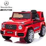 Dorsa Mercedes Benz Ride On Car For Kids, Red, 0002