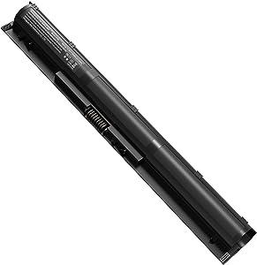 KI04 K104 800049-001 Laptop Battery for HP KIO4 800009-421 800010-421 TPN-Q158 TPN-Q159 HSTNN-DB6T HSTNN-LB6R, 17-g121wm 14-ab006tu 15-an050nr [4 Cells/14.8V, 2600mAh/38Wh]