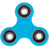 Huayang| Anti-Anxiety 360 Spinner Helps Focusing Fidget Toy ADHD Anxiety Autism Stress Reducer Fidget Hand Tri Spinner EDC Focus Toy for Kids & Adults Toy Kids Adult Light Blue 1