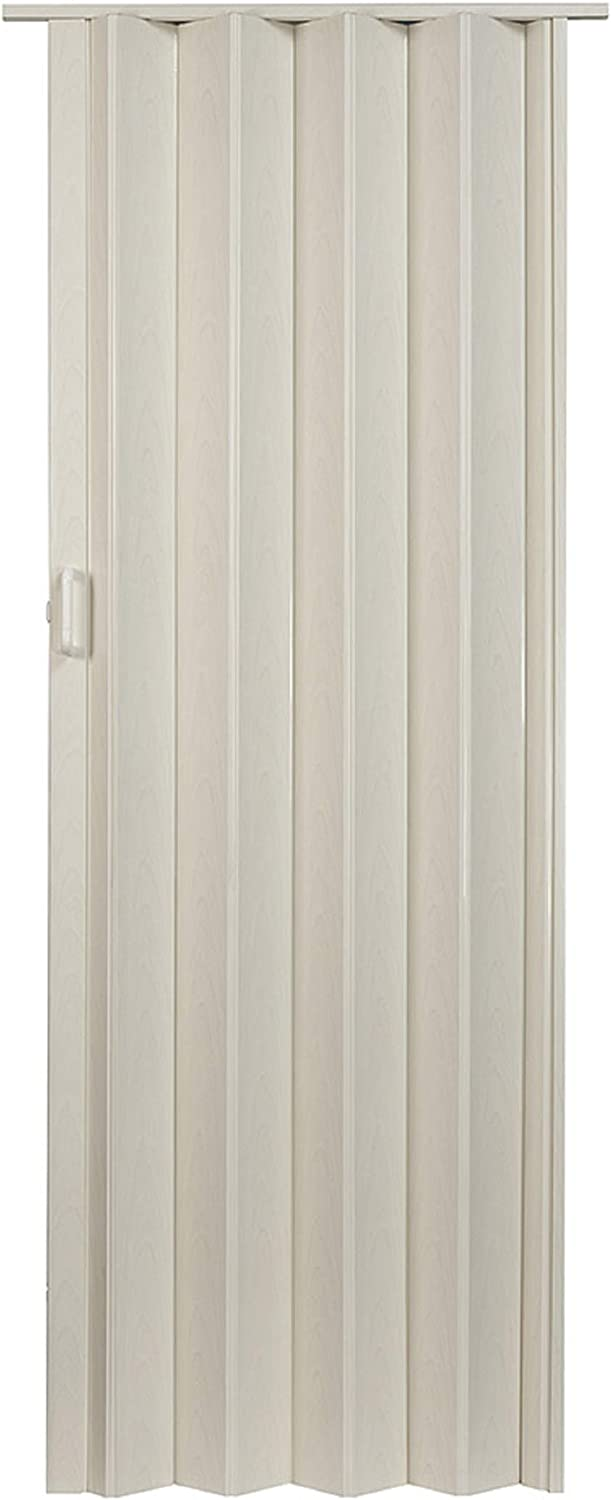 "LTL Home Products OK3680WA Oakmont Interior Accordion Folding Door, 36"" x 80"", White Ash"
