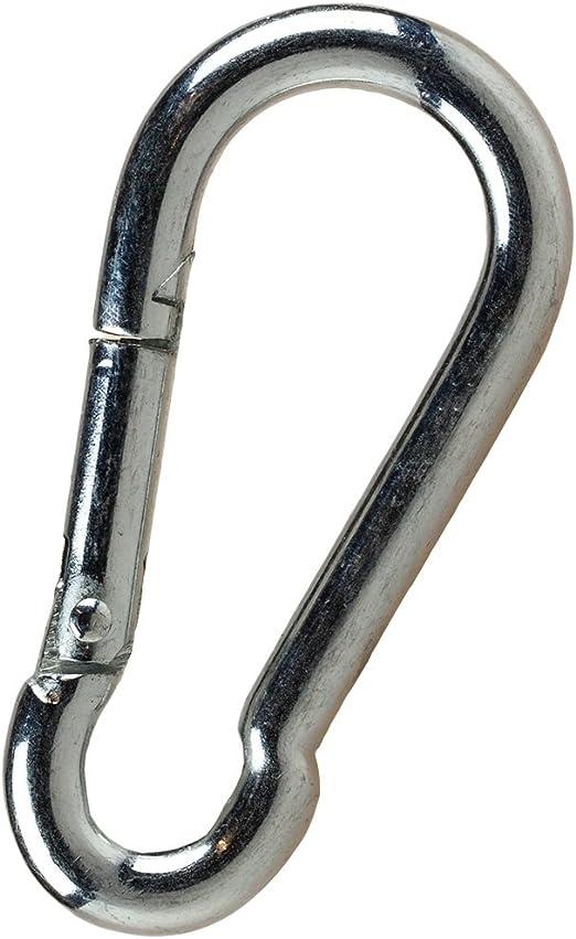 Single-Grip-Griffe mit Karabinerhaken. 4-tlg