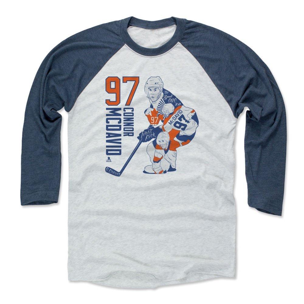 Connor McDavid Edmonton Oilers #97 NHL Men/'s Player T-Shirt Navy