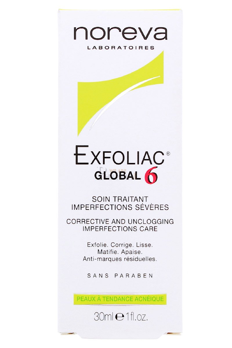 Exfoliac Global 6 Crème 30 ml Icf 2252