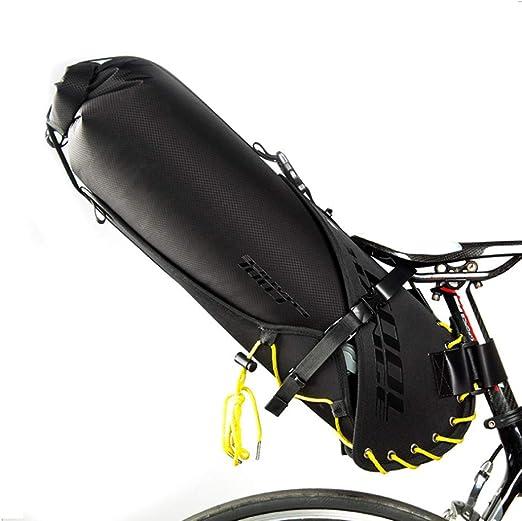 Bolsa De Sillín De Bicicleta 20L Bolsa De Bicicleta A Prueba De Agua IPX7 Debajo De