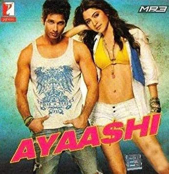Ayaashi Mp3 Cd New Yash Raj Films Hindi Film Bollywood Movie Indian