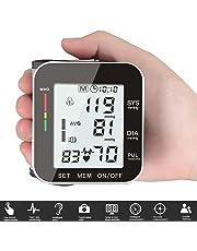 Automático Monitor de Presión Arterial Electrónico RabbitStorm Digital Monitor de Presión de Muñeca, Función de Transmisión Automática de Voz Completa, Pantalla Grande de Alta Definición con Subtítulos Claros. Diseño de Usuario Dual, Memoria de Separación de Datos
