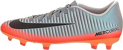 Folleto polilla forma  Amazon.com | Nike Mercurial Vortex III CR7 (FG) Firm Ground Football Boots  - Cool Grey/Metallic Orange Size 13 | Soccer