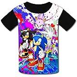 VSHFGC Kid//Youth Be-N 10 T-Shirts 3D Long Sleeve Tees for Girls Boys