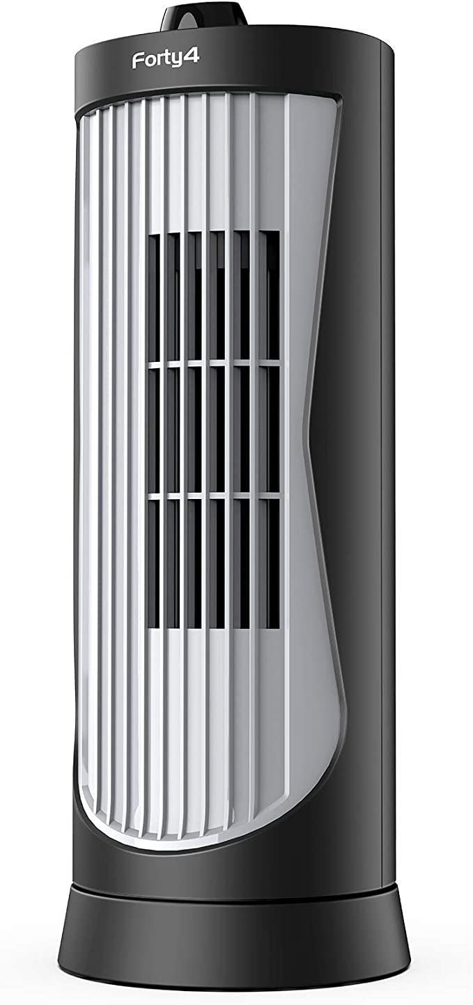 PFT40A4AGB Electric Oscillating Stand Up Tower Fan Black 2020 New Mod 40-inch