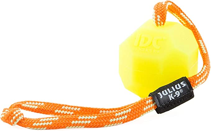 Julius-K9 242-BLL-60 Fluorescens Ball with String Diam.60mm ...