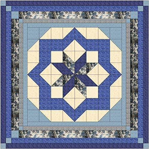 Easy Quilt Kit Constellation//Classic Navy Queen