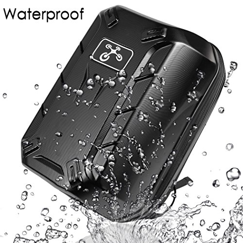 Coocheer-Waterproof-Pro-Hard-Shoulder-Carrying-Case-Box-Backpack-For-DJI-Phantom-23-Standard-Professional-Advanced-Black