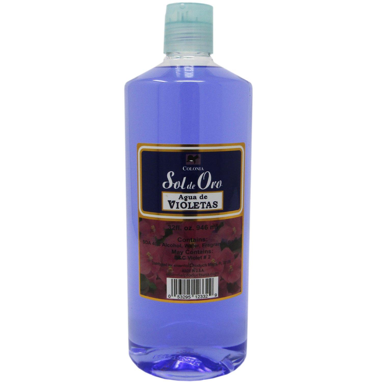 Sol de Oro Colonia Agua de Violetas 32 oz