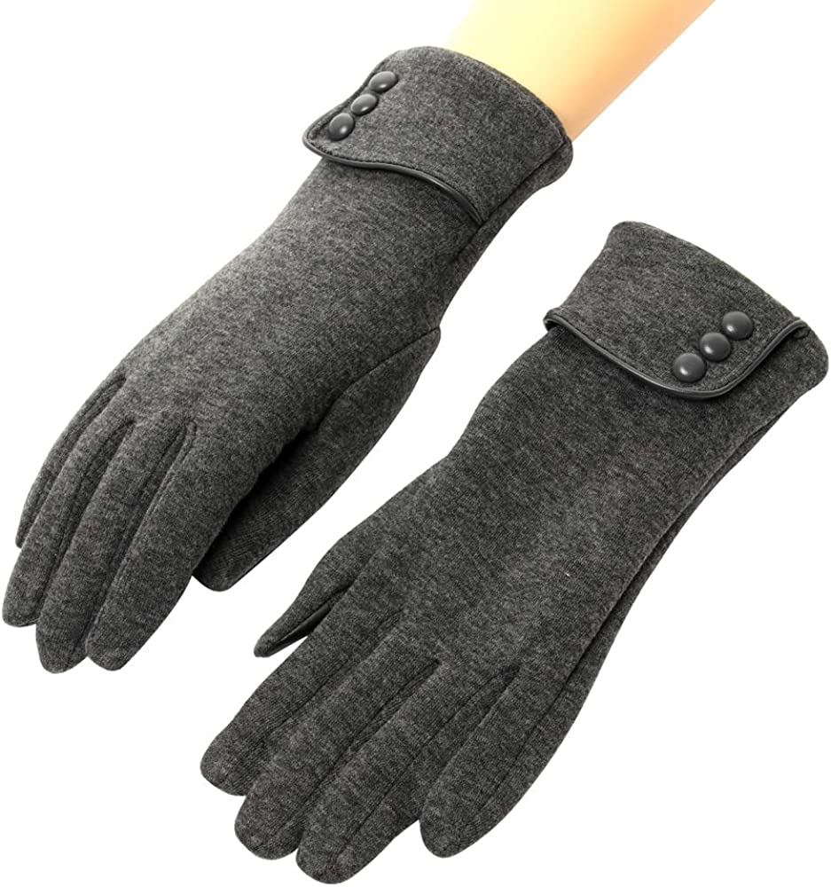 Women's Driving Gloves Warm...