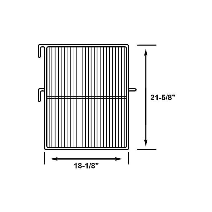 amazon com perlick c29842 1 refrigerator wire shelf with grey epoxy rh amazon com