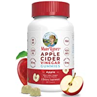 """Organic Apple Cider Vinegar Gummies by MaryRuth's - Includes """"The Mother"""" - Immune Boosting - Overall Wellness - Superfood Supplement - Vegan - Non-GMO - Gluten-Free - 60ct"""