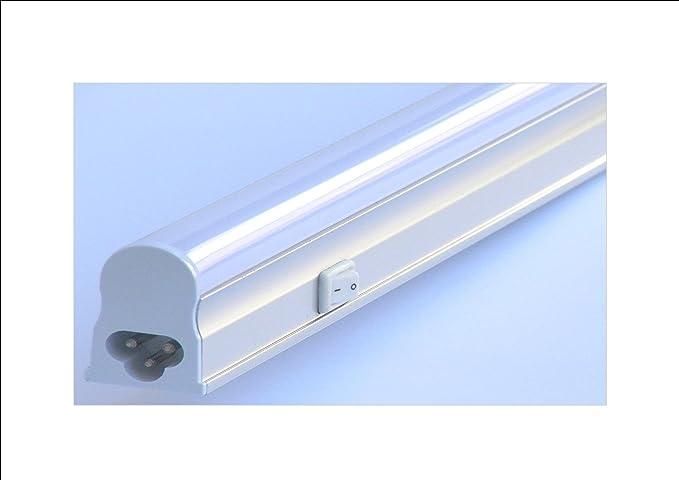 Plafoniera da esterno con interruttore : Plafoniera led sottopensile w cm ip luce naturale k con