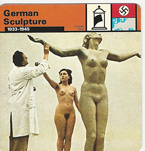 1977 Edito-Service, World War II, #31.14 German Sculpture