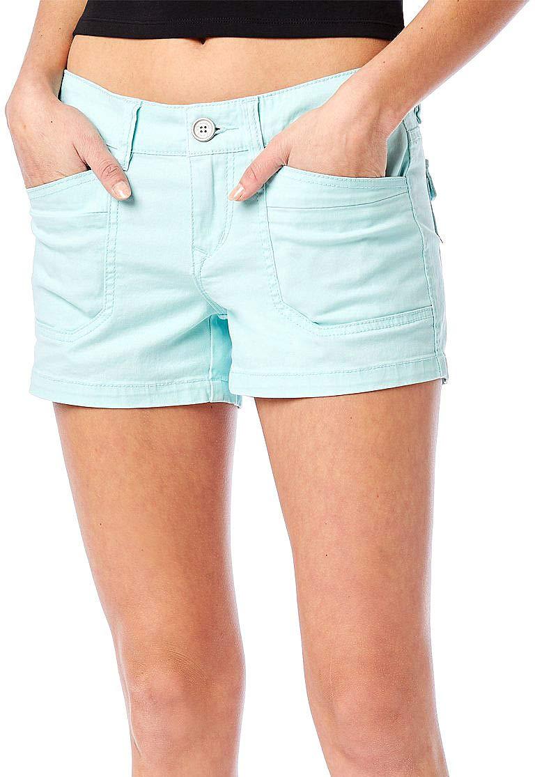 UNIONBAY Juniors Delaney Shorts 1 Beach Glass Blue