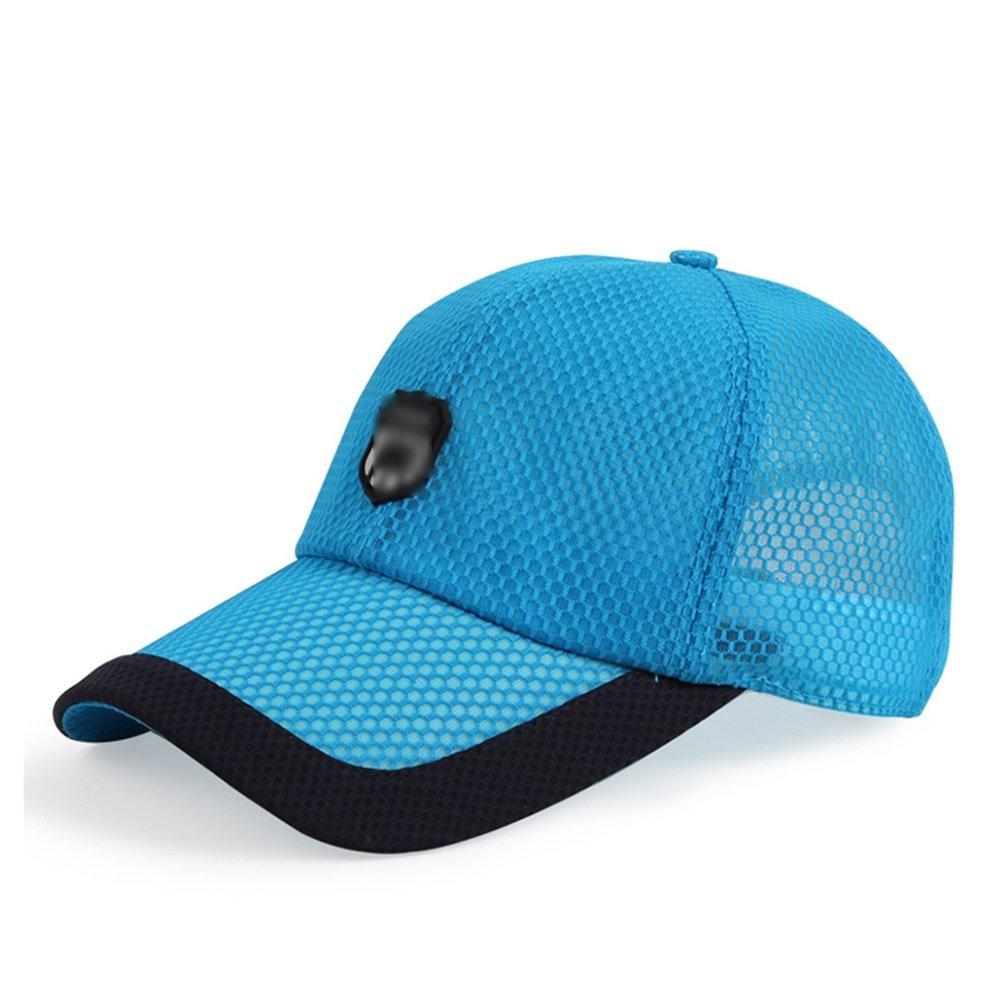 GYH MaoZi LJHA Hat Mens Summer Casual Street Mesh Baseball Cap Sun Protection Summer Outdoor Sun Hat Color : A