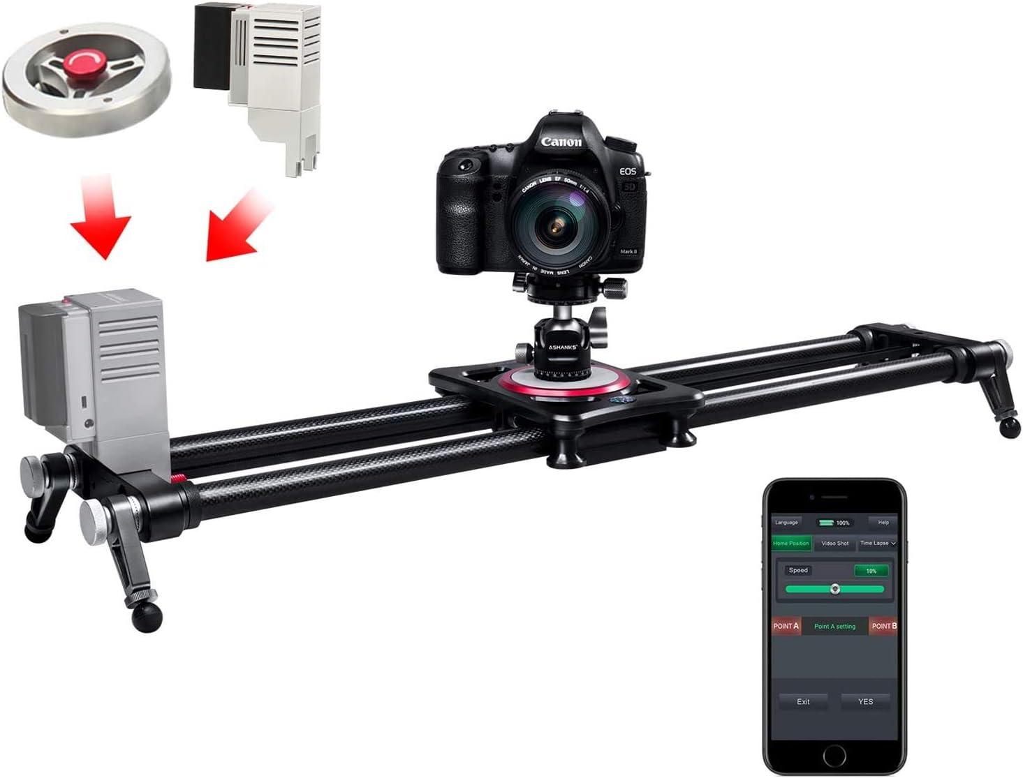 Motorised Camera Slider Remote Control With Ashanks App Elektronik