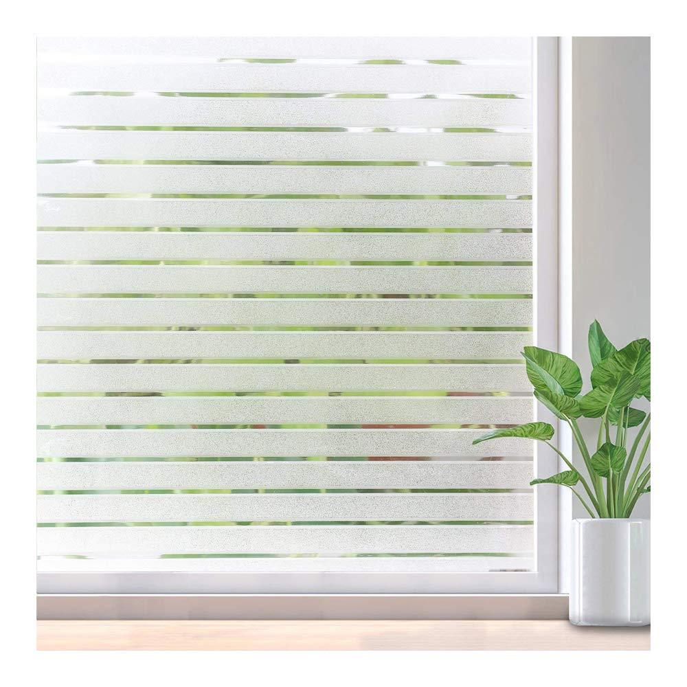 Rabbitgoo pellicola finestre striscia per vetri non adesivo privacy ufficio ebay - Pellicola finestre privacy ...