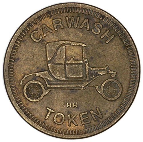 1990 Car Wash Token None Very Good