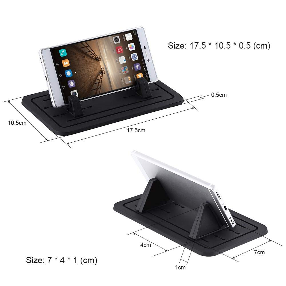 Universal Silicone Gel Car Dashboard Mobile Phone Mount Holder Cradle Stand Cuque Car Phone Mount