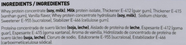 Whey Protein Concentrate (WPC) de HSN Sports - Concentrado de Proteína de Suero Evowhey 2.0 - Sabor Vainilla - 2000 gr: Amazon.es: Salud y cuidado personal