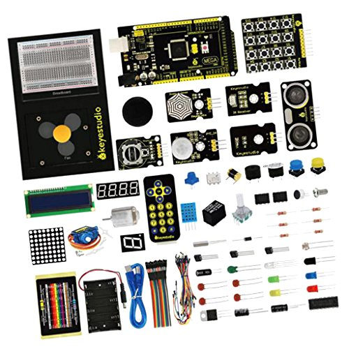 MagiDeal Keyestudio Updated Maker Starter Learning Kit for A