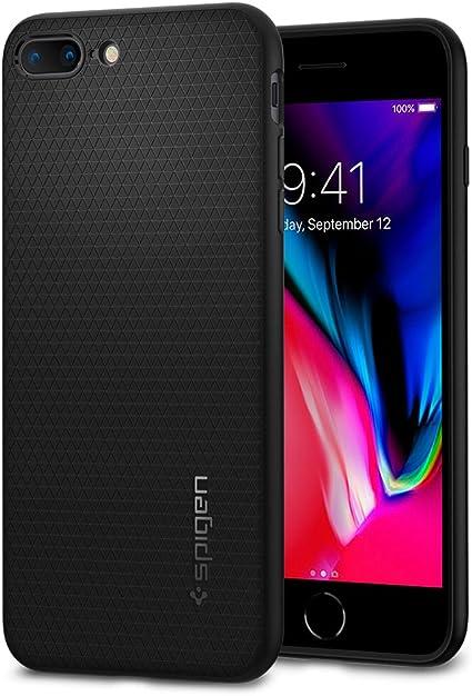 Spigen Coque iPhone 7/8 Plus [Liquid Armor] Souple, Motif géométrique, Double Protection, Mince, Légère, Bonne Prise en Main, Coque iPhone 7 Plus, ...
