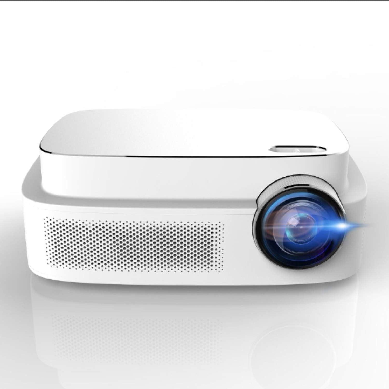 "HD Video Projector, ERISAN HD Video Beam with 200""Display, HiFi Speaker, Quieter Fan, Compatible TV Stick, HDMI, VGA, USB, Laptop etc"