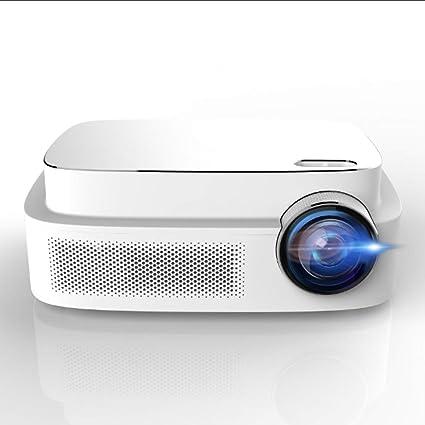"HD Video Projector, ERISAN HD Video Beam with 200""Display, HiFi Speaker,  Quieter Fan, Compatible TV Stick, HDMI, VGA, USB, Xbox, Laptop etc"