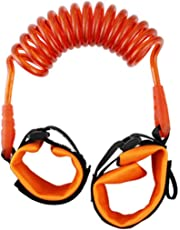 Harness Leash Strap Kids Safety Anti Lost Wrist Link Band Children Bracelet Wristband Baby Toddler Hand Belt Strap - Orange
