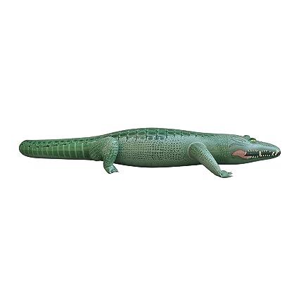 Beau 62u0026quot;L X 28u0026quot; W X 12 U0026quot;H Inflatable Crocodile,Inflatable  Alligator,