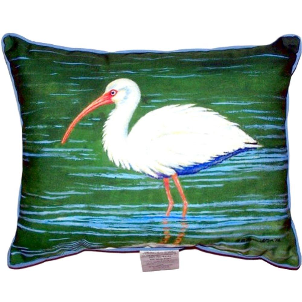 Betsy Drake Sn378 Dicks Ibis Pillow 11 X14 Bed Pillows Home Kitchen
