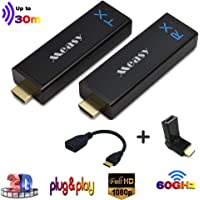 measy W2H NANO wireless Uncompressed mini HDMI Extender Transmitter and Receiver up to 30m (line of Sight) ,Compatible…
