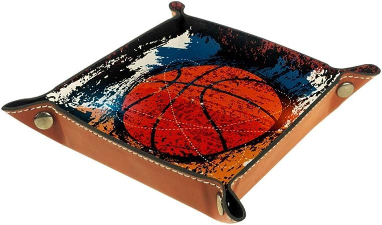 Chuangxin - Bandeja de dados de baloncesto estilo vintage para juegos de mesa de RPG plegable para juegos de mesa DND, multicolor, 20.5x20.5cm: Amazon.es: Hogar