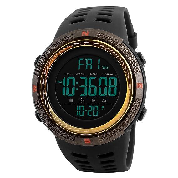fa8d45e26fe7 Los hombres de la Digital reloj deportivo