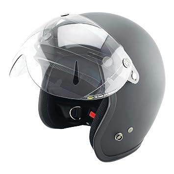 skap Jet Helmet skap 1nh Slim Matt Black Size XL