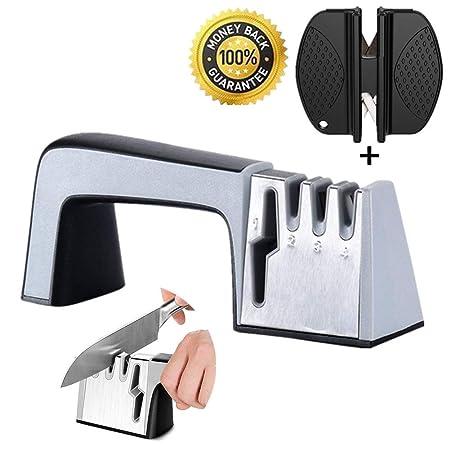Compra Afilador de Cuchillos Profesional, Knife Sharpener, 4 en 1 ...
