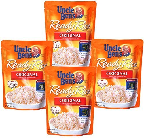 Uncle Ben's Ready Rice, Original 8.8 Oz (Pack of 36) by Uncle Ben's