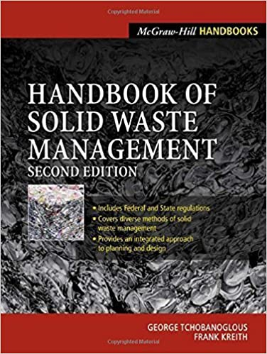 Handbook of solid waste management, 2nd edition pdf free download.