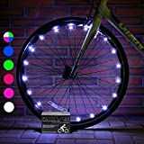 Super Cool Bike Lights (1 Tire, White) Hot Wheels for Boys, Girls & Fun Gift Ideas for Him and Her - Popular Bicycle Wheel Decorations for Safety & Bright Style - LED Bulbs - Day & Night Reviews