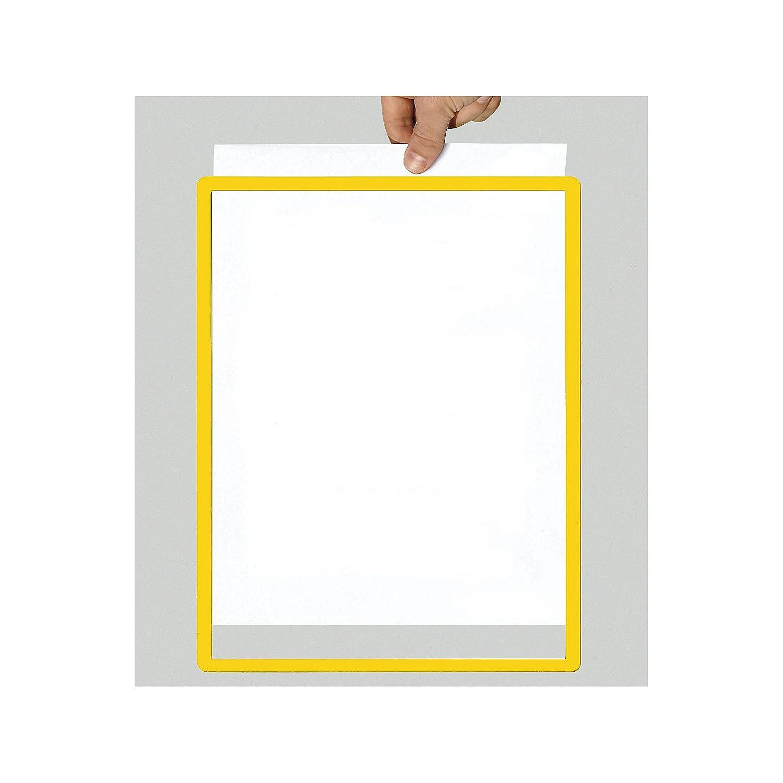 Rahmen mit Klarsichtfolie - Papierformat A2, VE 10 Stk, gelb: Amazon ...