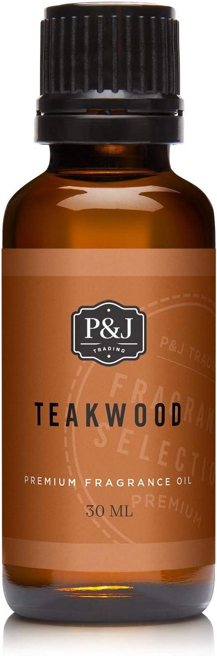 Teakwood Fragrance Oil - Premium Grade Scented Oil - 30ml