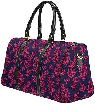 InterestPrint Unisex Duffel Bag Carry-on Bag Overnight Bag Weekender Bag Merry Christmas